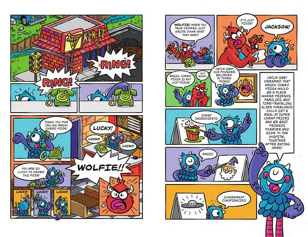 Joey Ellis' Wolfie Monster for Scholastic Gets a Free Comic Book Day 2019 Preview