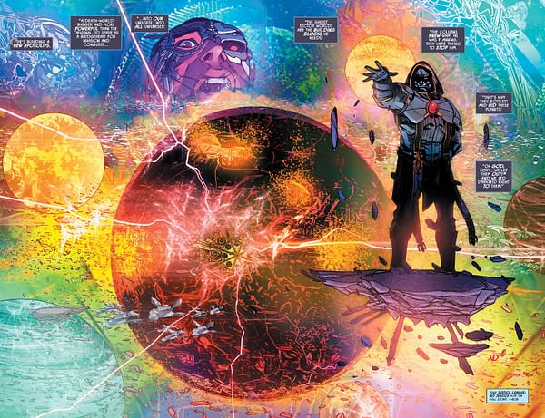 Justice League Odyssey #6 Changes Its Story…