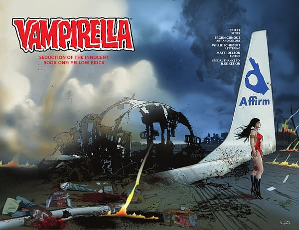 Priest On Deconstructing Vampirella - 'The Idea of Empowering Women has Gotten Lost in the Titillation'