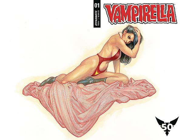 Dynamite Confirm Vampirella #1 Has 130,000 Orders