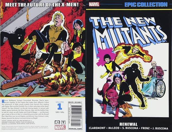 Marvel Sends New Mutants Comics Back to Print After Trailer Drops