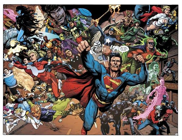 Doomsday Clock Justice League