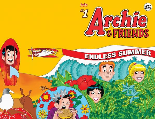 The cover of Archie & Friends Endless Summer #1.