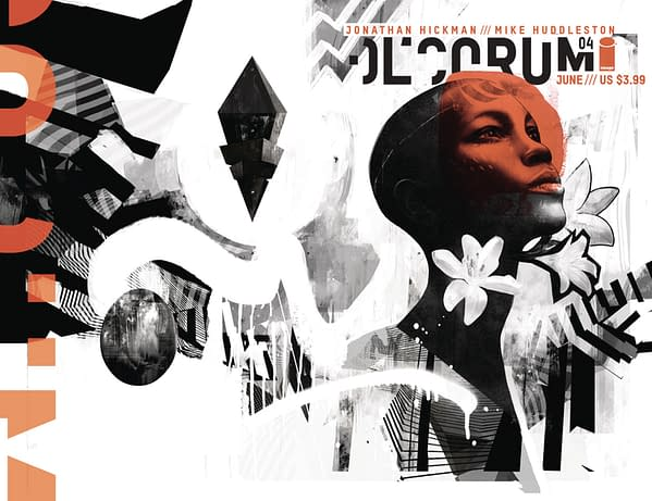 Decorum by Jonathan Hickman and Mike Huddleston Now 8 Issues Long.