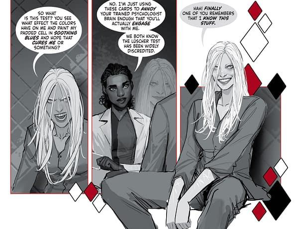 Stjepan Šejić Creates Harleen Sequel For Harley Quinn Digital Comic.