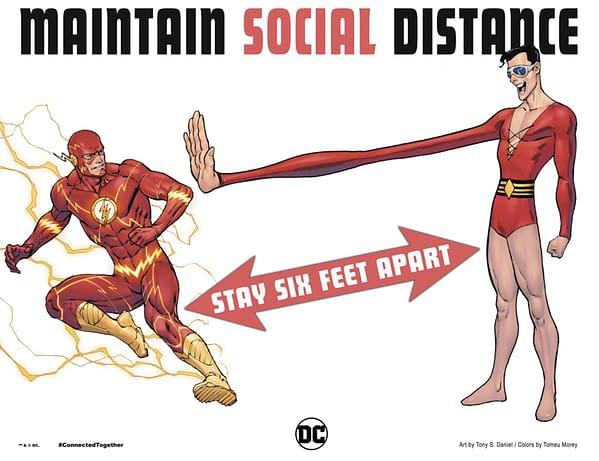 Plastic Man Can't Make Social Distancing Work Either.