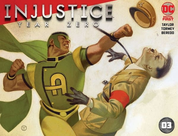 LEAK: Tom Taylor's Injustice Gods Among Us: Year Zero Set in the 40s