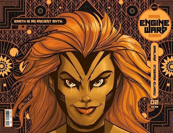 Joe Eisma draws Engineward #2. Credit: Vault
