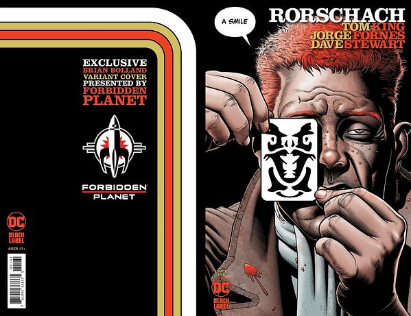 Brian Bolland Remakes Killing Joke For Rorschach Forbidden Planet Cover