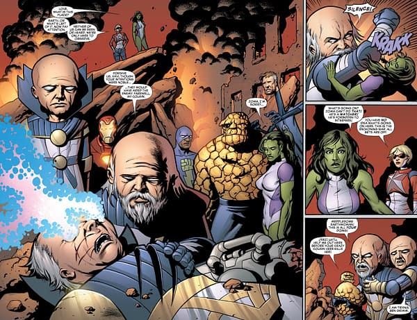 Is Dan Slott Finally Getting To Do The Reckoning War at Marvel Comics?
