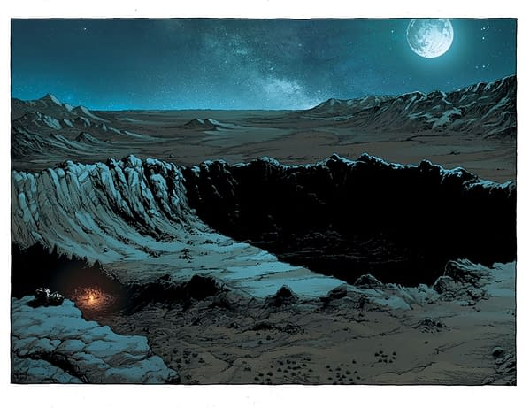 Geoff Johns and Gary Frank's New Comic, Geiger, From Image in April