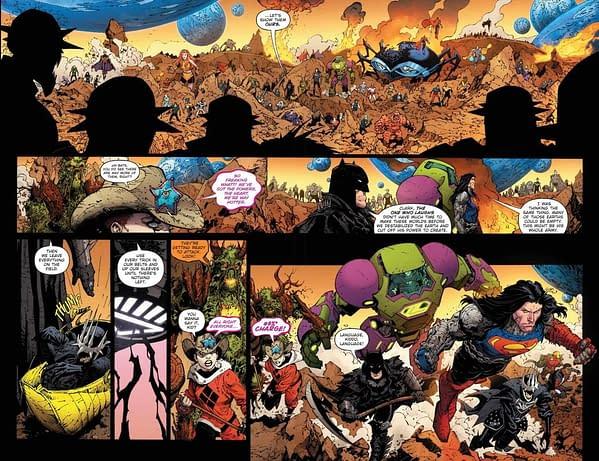 Death Metal #6 Pomises One Universe (Spoilers)