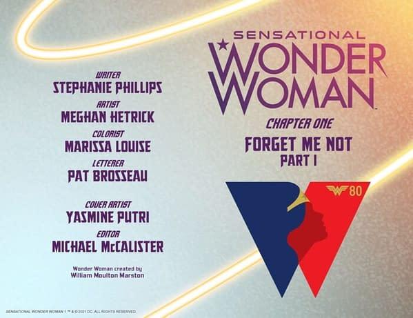 Stephanie Phillips, Meghan Hetrick Launch Sensational Wonder Woman #1