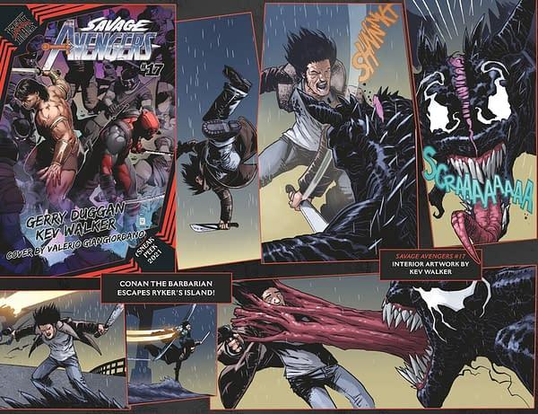 Savage Avengers 17 previews