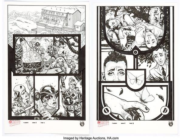 Original Art Auction- Arthur Suydam, Jock, John Byrne, Marc Silvestri