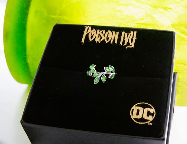 DC Comics Poison Ivy Gets Her Own Jewelry Collection From RockLove
