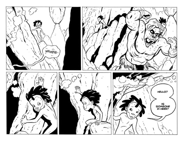 Jeff Smith's TUKI: Fight For Fire Kickstarter Campaign Debuts May 4