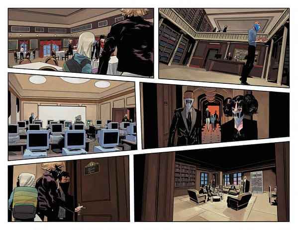 Interior preview page from SOMETHING IS KILLING THE CHILDREN #17 CVR A DELL EDERA