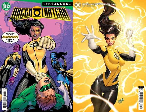 Yes, Jessica Cruz Will Become A Yellow Lantern It Seems