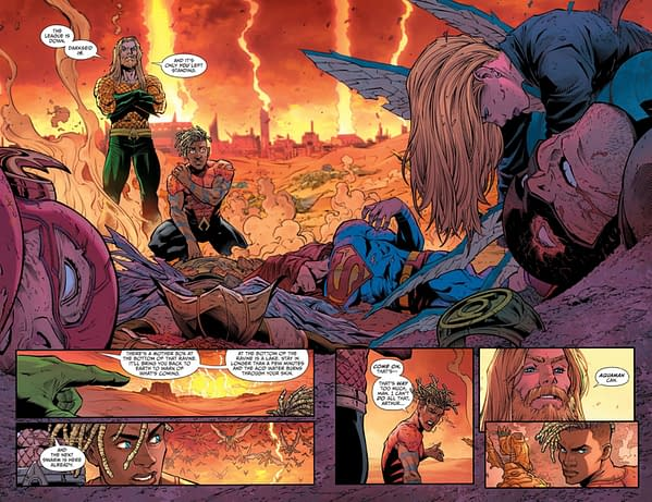 Interior preview page from AQUAMAN THE BECOMING #1 (OF 6) CVR A DAVID TALASKI