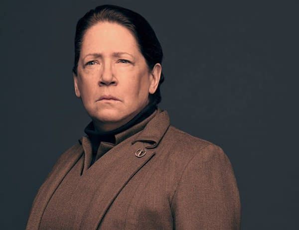 Emmy Nominee Ann Dowd Talks Aunt Lydia from 'The Handmaid's Tale'