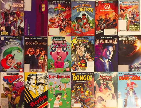 Sell Your Free Comic Book Day 2018 Titles for $234?