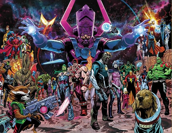 Marvel Says There Ain't No Party Like a Guardians Of The Galaxy Party