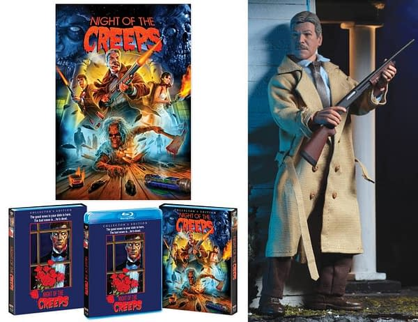 Scream Factory Night of the Creeps Blu ray Figure Set