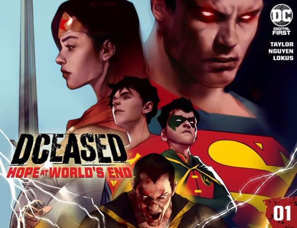 DC Comics Published New Digital-First DCeased Comic, Starting Today.