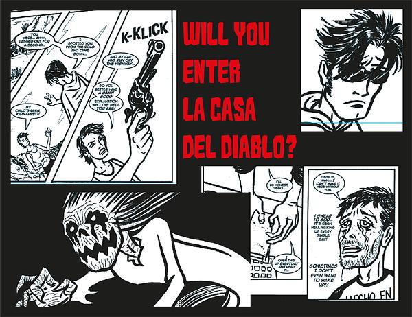 Kickstart El Muerto, the Aztec Zombie.
