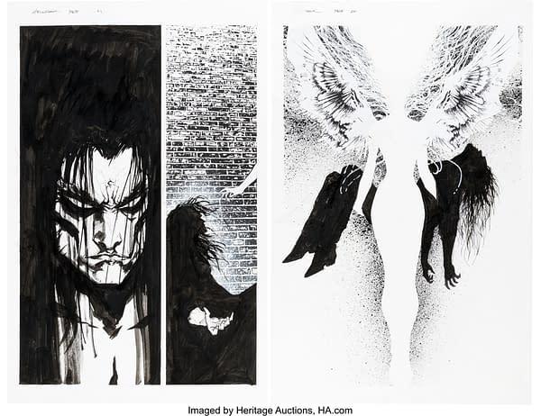 Complete Jae Lee Hellshock Original Artwork Stories At Auction