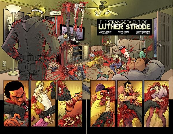 New Luther Strode Art In Pre Order Promotion