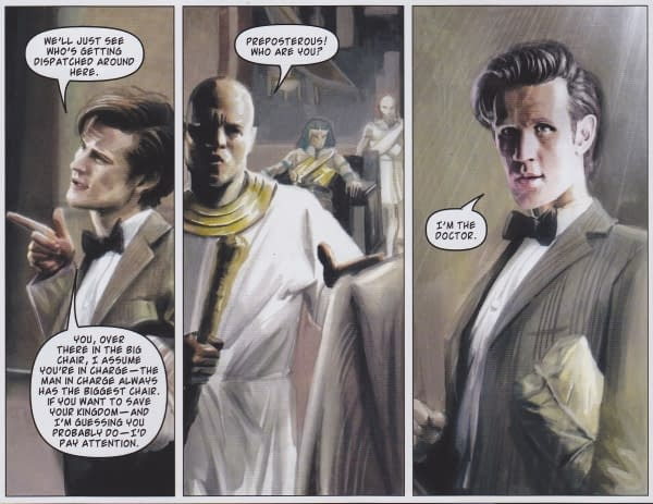 REVIEW: Star Trek: Next Generation/Doctor Who #1