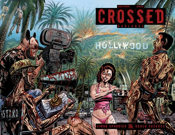Avatar Plug of the Week – CROSSED: BADLANDS #19 Si Spurrier's New Arc!