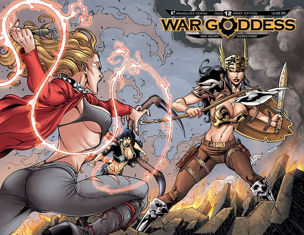 Boundless Plug of the Week: WAR GODDESS #12 – It All Ends Here