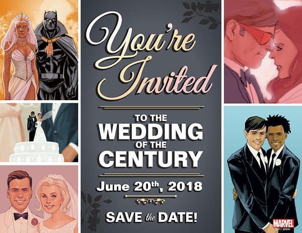 Marvel Announces A Comic Book Marriage For June 20th, 2018