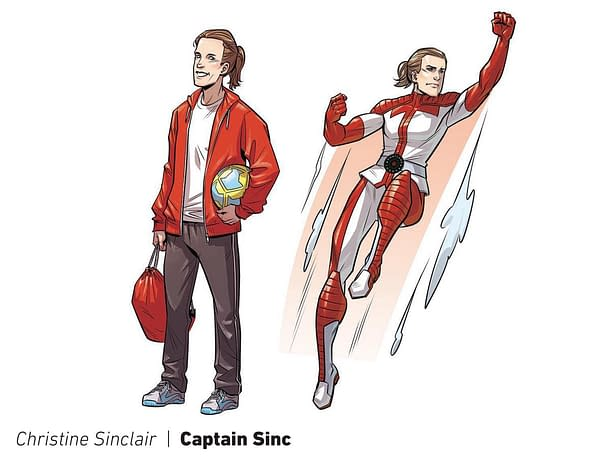 Dark Horse to Turn Portland Soccer Players into Superheroes for National Superhero Day