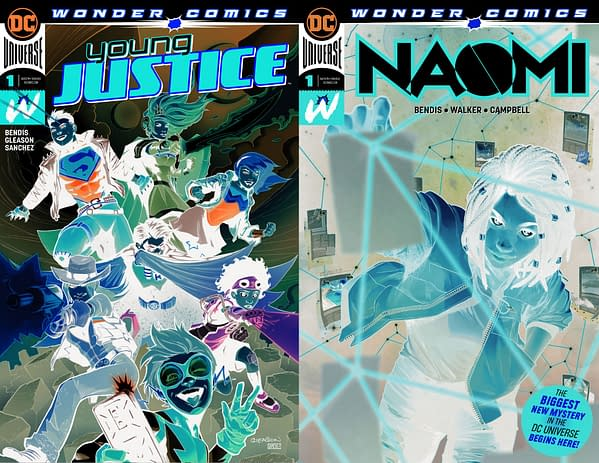 Young Justice #1 and Naomi #1 Get Second Printings