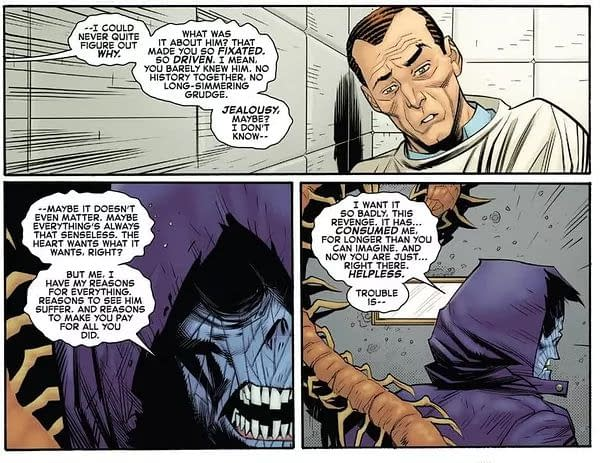 What Does the Sin Eater Want With Kindred in Amazing Spider-Man?