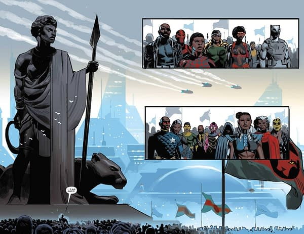 Ta-Nehisi Coates' Black Panther Returns, Off Missing In Action List