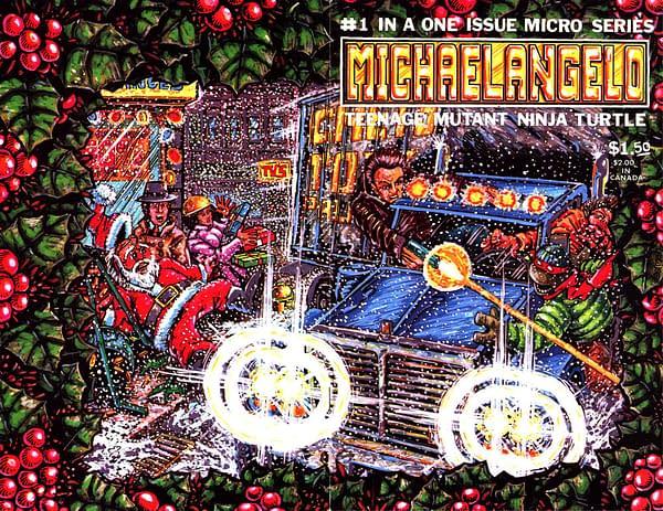 TMNT Micro Series Michaelangelo #1 Cover