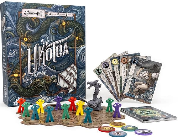 A look at the Uk'otoa board game, courtesy of Darrington Press.