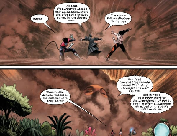 Way Of X #4 - And What The Mars Terraformers Forgot (Spoilers)