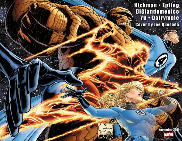 Now Marvel Teases The Return Of The Human Torch