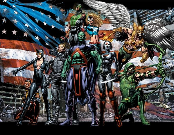 DC Comics Announce Geoff Johns And David Finch's Justice League Of America