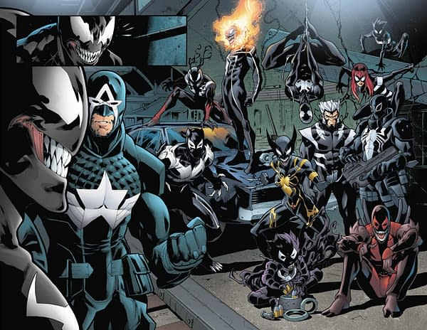 A New Venom Series By Ryan Stegman Coming In December For Marvel Legacy?
