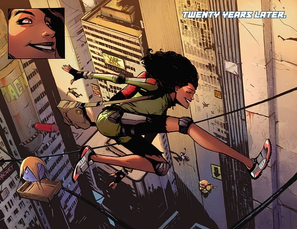 Exclusive Preview of Skyward #1, from Those Who Brought You the Lucifer TV Show and Comic