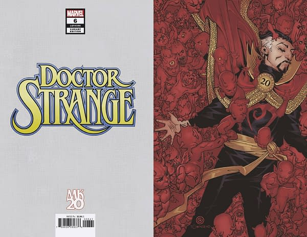 Doctor Strange #6 Gets a Marvel Knights Variant by Chris Bachalo