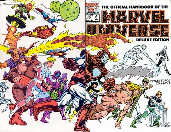 Official Handbook of the Marvel Universe Gets an Omnibus, and More For 2019