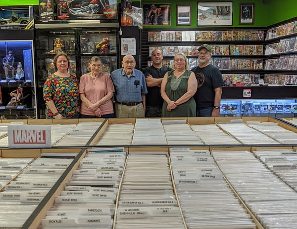 Lone Star Heroes - the Comic Store Owned By Three Generations Of Women